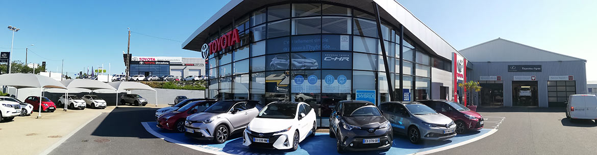 Photo de la concession Brest Automobiles Toyota