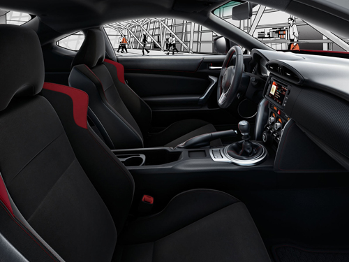 toyota gt86 le grand frisson. Black Bedroom Furniture Sets. Home Design Ideas